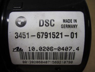 ABS Hydraulaggregat - BMW 3-Series -09 34512460468 - 34516791521