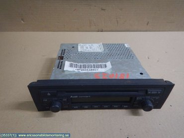 Radio CD / Multimediapanel - Audi A3, S3 -05 - 8P0035186C