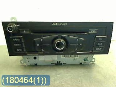Radio CD / Multimediapanel - Audi A4, S4 -10 8T1057186P CQ-JA1970G PANASONIC 8T1035186P