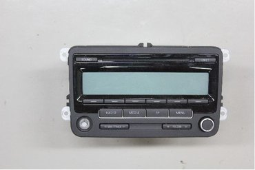 Radio CD / Multimediapanel - VW Golf Plus / Cross Golf -10 5M0035186AA -