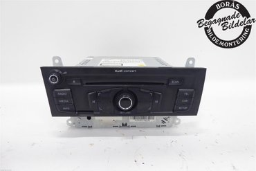 Radio CD / Multimediapanel - Audi A5 -10 8T1057186PX 8T1057186P 8T1035186P