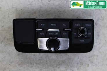 Radio CD / Multimediapanel - Audi A8, S8 -10 4H1919600M - 4H1919600C