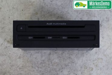 Radio CD / Multimediapanel - Audi A8, S8 -10 4H0035670CX - 4H0035670C