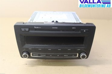 Radio CD / Multimediapanel - Skoda Octavia -11 1Z0035161N - 1Z0035161G