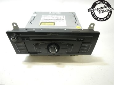 Radio CD / Multimediapanel - Audi A4, S4 -08 8T1057186BX - 8T1035186B