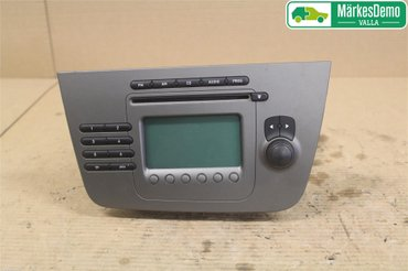 Radio CD / Multimediapanel - Seat Altea -05 5P1035152 5P10351521GZ 5P10351521GZ