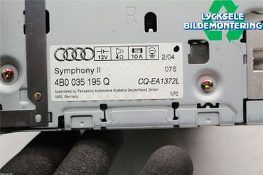 Radio CD / Multimediapanel - Audi A6 Allroad -04 4B0035195Q -
