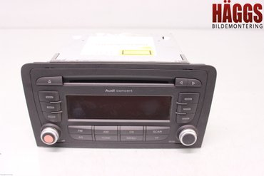 Radio CD / Multimediapanel - Audi A3, S3 -10 8P0057186SX 7649276380 8P0035186S