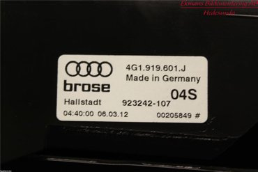 Radio CD / Multimediapanel - Audi A6, S6 -12 4G0919607J - 4G1919601J