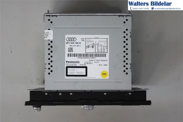 Radio CD / Multimediapanel - Audi A5 -14 8R1035186NX - 8R1035186N