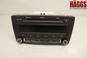 Radio CD / Multimediapanel - Skoda Octavia -10 1Z0035161G - 1Z0035161G
