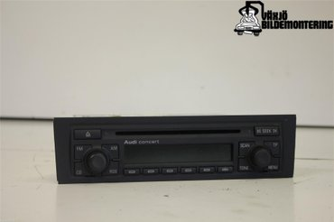 Radio CD / Multimediapanel - Audi A3, S3 -05 - - 8P0035186C
