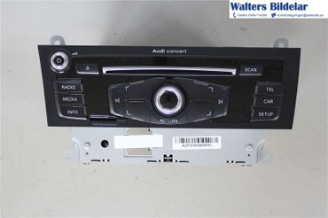 Radio CD / Multimediapanel - Audi A5 -14 8R1057186NX - 8R1035186N
