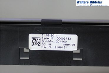 Radio CD / Multimediapanel - Audi A5 -11 - - 00003733