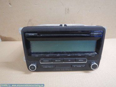 Radio CD / Multimediapanel - VW Transporter/Caravelle -11 - 5M0035186AA