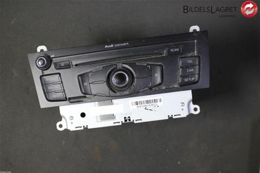 Radio CD / Multimediapanel - Audi Q5 -12 8T1035186P CQJA1970G