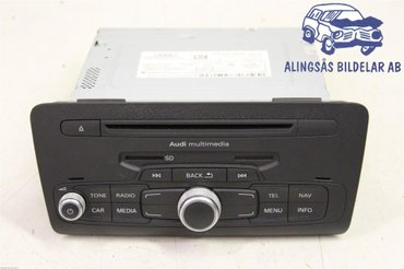 Radio CD / Multimediapanel - Audi A1 / S1 -12 8X0035160 X - 8X0035185E