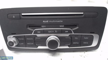 Radio CD / Multimediapanel - Audi A1 / S1 -16 8XA035193A 8XA 035 193A 8XA 035 193AX