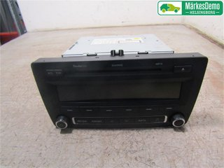Radio CD / Multimediapanel - Skoda Octavia -11 1Z0035161G