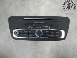 Radio CD / Multimediapanel - Audi Q3 -18 8U1035183D  8U1035183D