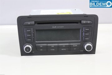 Radio / Stereo - Audi A3, S3 -11 8P0057185BX 7640276380 8P0035186AB