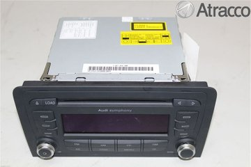 Radio CD / Multimediapanel - Audi A3, S3 -07 8P0057195  8P0035195G