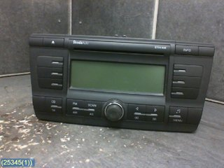 Radio CD / Multimediapanel - Skoda Octavia -05 1Z0035161B