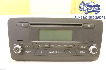 Radio CD / Multimediapanel - Audi A1 / S1 -11 8X0035160B   8X0035160B