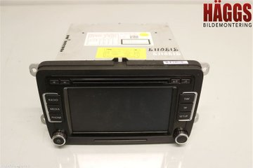 Radio CD / Multimediapanel - VW Passat -12 3C8057195F  3C8035195F