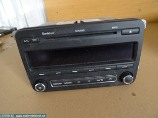 Radio CD / Multimediapanel - Skoda Praktik -11  5J0035161C