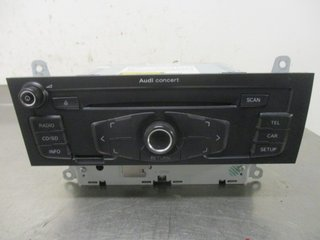 Radio CD / Multimediapanel - Audi A4, S4 -09 8T1057186BX CQ-JA1774G 8T1035186B