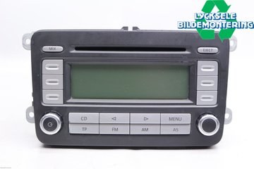 Radio CD / Multimediapanel - VW Caddy -07  RCD300 BVX 1K0035186T