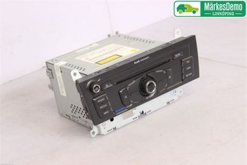 Radio CD / Multimediapanel - Audi A4, S4 -08 8T1 057 186 CX  8T1035186C