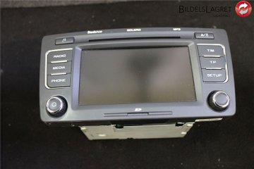 Radio CD / Multimediapanel - Skoda Octavia -10 1Z0035156F  1Z0035156F