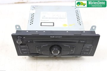 Radio / Stereo - Audi A4, S4 -11 8T1057186PX 8T1057186P