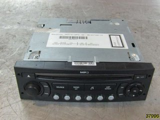 Radio CD / Multimediapanel - Citroen C4 -08  7645138393 BLAUPUNKT 9664769777