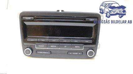 Radio CD / Multimediapanel - VW Golf, e-Golf -12   1K0035186AN