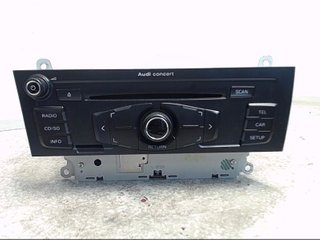 Radio CD / Multimediapanel - Audi A5 -08 8T1057186BX CQ-JA1774G 8T1035186B
