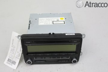 Radio CD / Multimediapanel - VW Tiguan -09 5M0057187AX  5M0035186AA