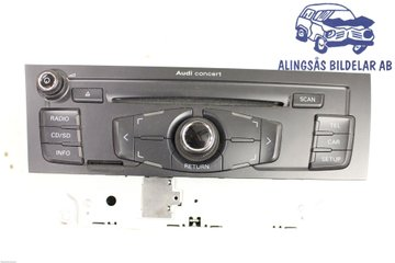 Radio CD / Multimediapanel - Audi A5 -08   8T1035186B