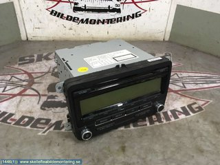 Radio CD / Multimediapanel - VW Tiguan -08 5M0 057 187 AX   5M0035186AA