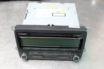Radio CD / Multimediapanel - VW Passat -11 BP7647201360 1K0035186AA