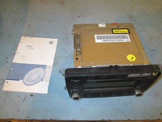 Radio CD / Multimediapanel - VW Golf, e-Golf -07 1K0057186PX RCD300 1K0035186P