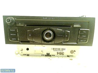 Radio CD / Multimediapanel - Audi A4, S4 -11 8T1057186P CQ-JA1970G PM6-001 8T1035186P