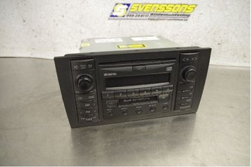 Radio CD / Multimediapanel - Audi A6, S6 -00 4B0035195