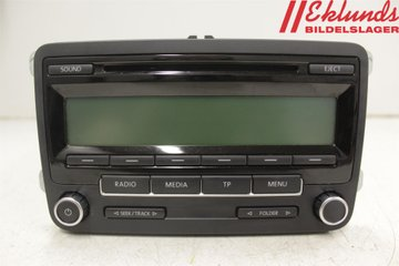 Radio CD / Multimediapanel - VW Golf, e-Golf -10 5M0035186AA  5M0035186AA