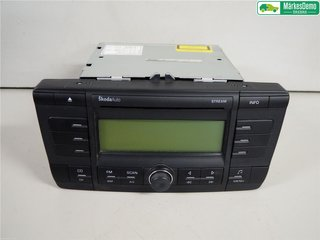 Radio CD / Multimediapanel - Skoda Octavia -06 AAO600002AX  1Z0035161B
