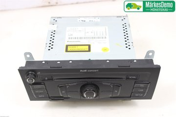 Radio / Stereo - Audi A4, S4 -09 8T1057186CX 8T1035186C 8T1035186C