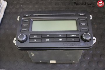 Radio CD / Multimediapanel - VW Golf, e-Golf -05 1K0035186L RCD300 1K0035186L