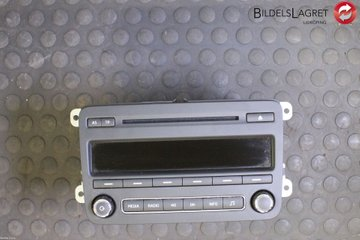 Radio CD / Multimediapanel - Skoda Fabia -14 5J0035161G  5J0035161G